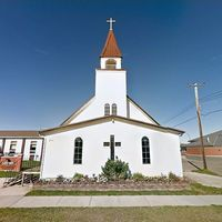 St. Peter Celestin Catholic Church - Slave Lake, Alberta