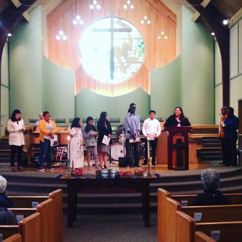 World Communion Sunday at Lake Burien