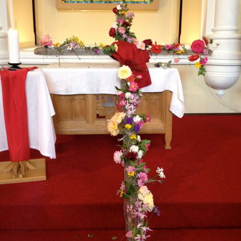 Flowering of thecross