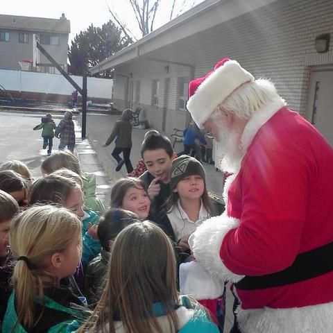 Santa at St. Matthew's