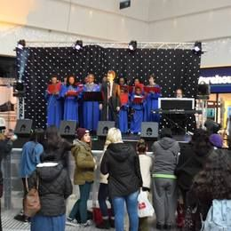 St Johns Choir in Stratford Centre
