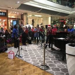 Christmas Carols in Westfield, Stratford City