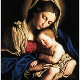 Mary the Blessed Virgin title=