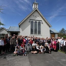 St Lukes 125th congregation