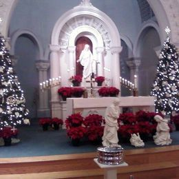 Trinity Lutheran Church at Christmas