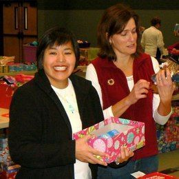 2012 Operation Christmas Child Packing Party