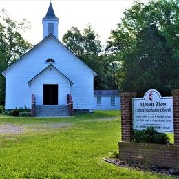 Mount Zion UMC Church - St. Inigoes, Maryland