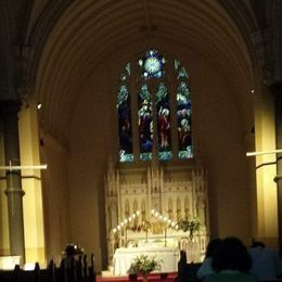 Sts Peter & Paul's, South Melbourne during Adoration at the Friday Evening Lenten Devotions