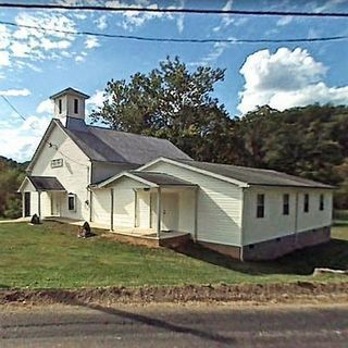 Rush Run Baptist Church, Normantown, West Virginia, United States