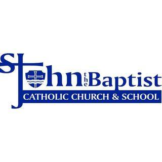 St John the Baptist Catholic Church and School logo