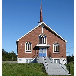 Faith United Church Green's Harbour - photo courtesy of Anne Gosse
